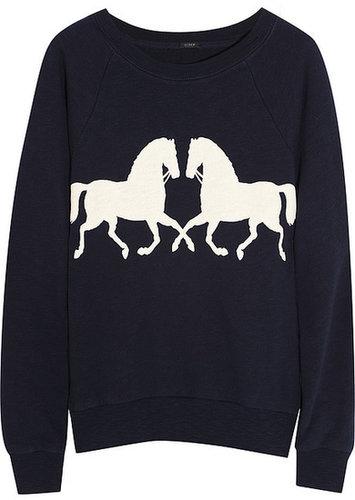 JCrew-Horsing-Around-cotton-sweatshirt