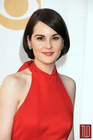 Michelle+Dockery+Prada+2013+Emmy+Awards+2