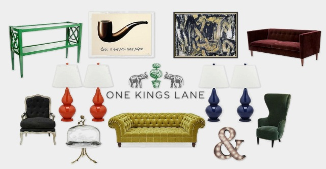 One Kings Lane has home goods for any taste and fun stuff that won't be found in anyone's home more on surroundedbypretty.com
