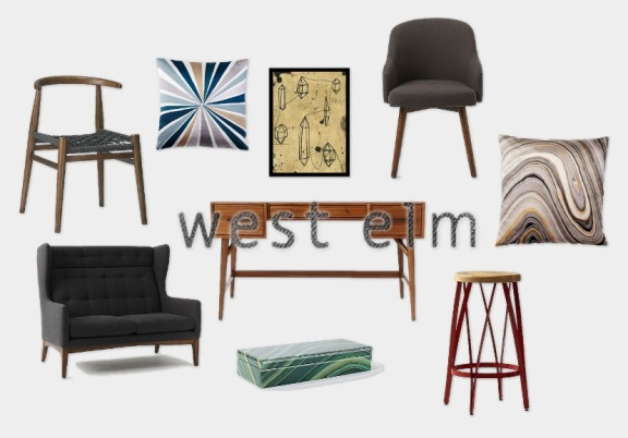 West Elm has both eclectic and classic pieces, a go to store for surroundedbypretty.com