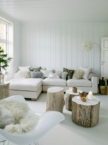 Bright white, neutrals, big windows make for a happy place on surroundedbypretty.com